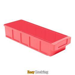 Plastic Bak, Magazijnbak, Magazijnstellingbak VKB 300x152x83 rood