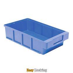 Plastic Bak, Magazijnbak, Magazijnstellingbak VKB 300x186x83 blauw