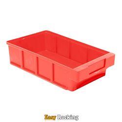 Plastic Bak, Magazijnbak, Magazijnstellingbak VKB 300x186x83 rood