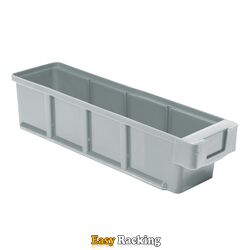 Plastic Bak, Magazijnbak, Magazijnstellingbak VKB 300x93x83 grijs