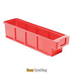 Plastic Bak, Magazijnbak, Magazijnstellingbak VKB 300x93x83 rood
