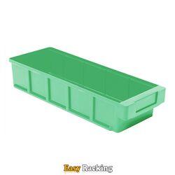 Plastic Bak, Magazijnbak, Magazijnstellingbak VKB 400x152x83 groen