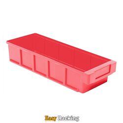 Plastic Bak, Magazijnbak, Magazijnstellingbak VKB 400x152x83 rood