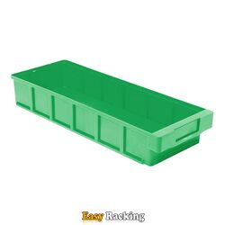 Plastic Bak, Magazijnbak, Magazijnstellingbak VKB 400x186x83 groen