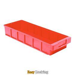 Plastic Bak, Magazijnbak, Magazijnstellingbak VKB 400x186x83 rood