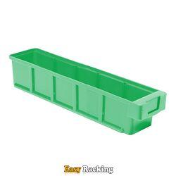 Plastic Bak, Magazijnbak, Magazijnstellingbak VKB 400x93x83 groen