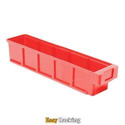 Plastic Bak, Magazijnbak, Magazijnstellingbak VKB 400x93x83 rood