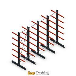 Voordeelrij medium draagarmstelling dubbelzijdig 3000x4000 armlengte 600 mm - 5 niveaus